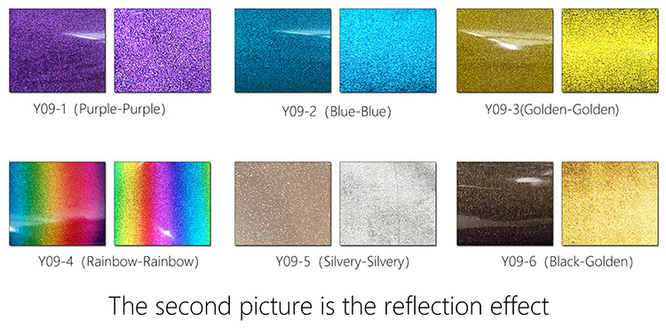 Reflective Glitter Heat Transfer Vinyl
