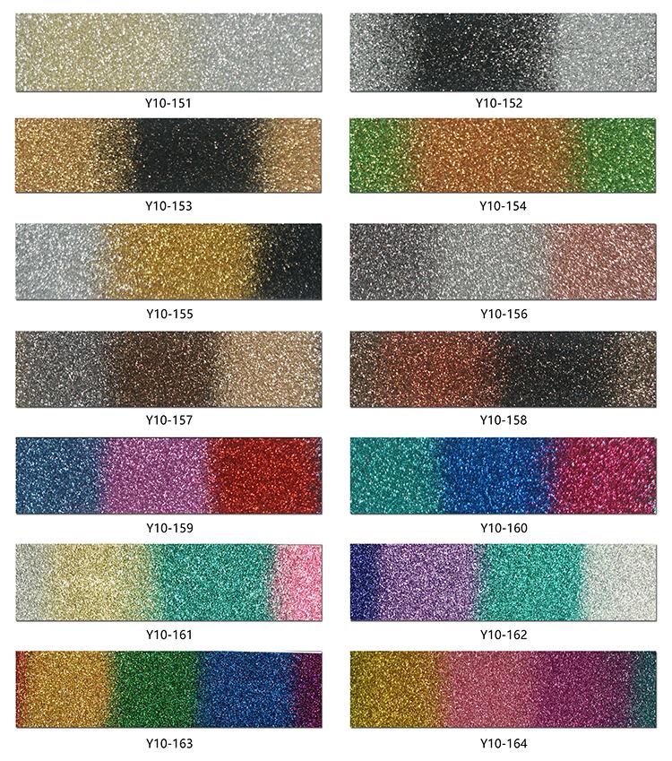 Rainbow glitter heat transfer vinyl