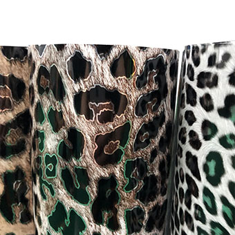 Decorative Pattern Soft Metallic Heat Transfer Film